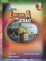 Carlong English A for CSEC With Study Guide, Exercises and Interactive DVD-Rom
