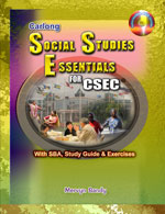 Carlong Social Studies Essentials for CSEC With SBA, Study Guide & Exercises And Interactive DVD