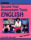 Carlong Second Year Assessment Tests - English
