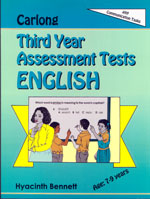Carlong Third Year Assessment Tests - English