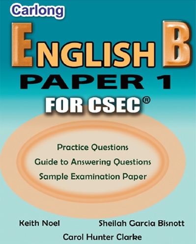 Carlong English B Paper 1 For CSEC Carlong Publishers