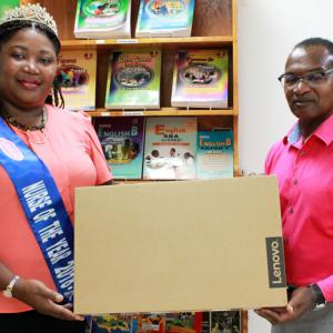 Carlong donated a brand new Lenovo laptop to assist Nurse Denise Dacres with her mission to provide a primary school with new laptops to facilitate the resumption of their Information Technology classes. Denise Dacres is Lasco's Nurse of the Year for 2018